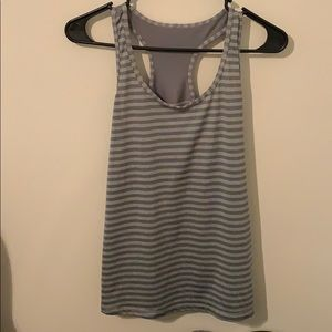 Danskin Grey athletic tank top